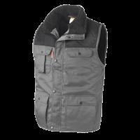 Bodywarmer Workman multipocket bi-colour grijs met zwart