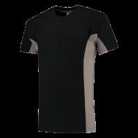 T-shirt Tricorp 102002 TT2000 zwart/grijs
