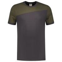 Tshirt Tricorp 102006 schuine naad Grey - Army