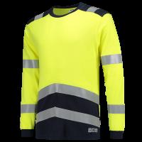 Tshirt Tricorp 103003 multinormen EN471 FR-AST geel/blauw