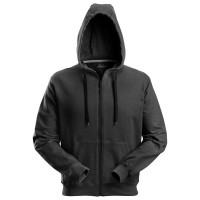 Hooded sweatjack Snickers 2801 zwart