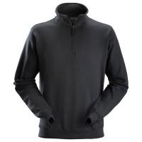 Sweater Snickers 2818 ritskraag zwart