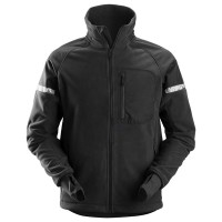 Fleece jas Snickers 8005 Allroundwork windproof zwart