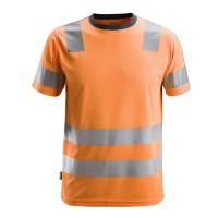 T-shirt Snickers 2530 High-Vis EN471 KL.2 Fluor oranje