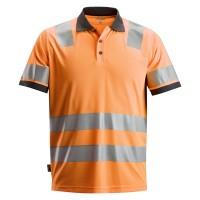 Poloshirt Snickers 2730 High-Vis EN471 CL.2 fluor oranje