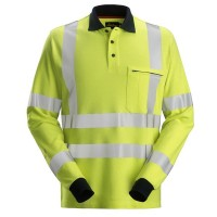 Multinorm Poloshirt Snickers 2661 FR AST EN20471 cl.3
