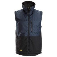 Bodywarmer Snickers 4548 Allround Work Navy-zwart