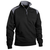 Sweater Blaklader 3353 Zwart met Grijs
