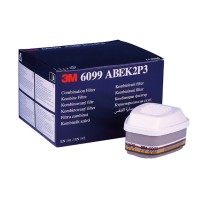Combinatie filter 3m 6099 - ABEK2P3 , 4 stuks