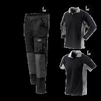 Kledingpakket Workman Worker zwart met grijs ( Basic pakket)