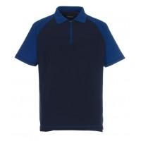Poloshirt Mascot Bianco bi-colour navy met korenblauw