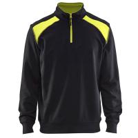 Sweater Blaklader 3353 Zwart met Geel
