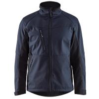 Softshell jas Blaklader 4950 donker navy-zwart