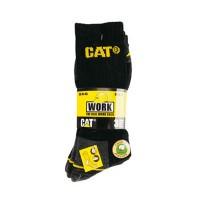 Cat sokken 3-pack - Zwart grijs