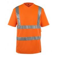 T-shirt Mascot Espinosa met striping EN471 kl. 2 fluor oranje