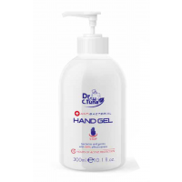 Anti-bacteriele handgel met pompje 70% alcohol 300ml