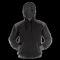 Hooded sweater Dassy Indy Zwart met grijs
