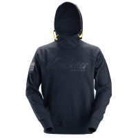 Hooded Sweater Snickers 2881 met 3d print - Navy