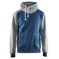 Hooded sweater Blaklader 3399 bi-colour blauw / grijs