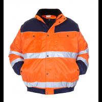 Pilotjack Hydrowear Leiden 3 in 1 EN471 bi-colour oranje - blauw