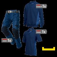 Kledingpakket Tricorp Navy met Royal ( Basic pakket)
