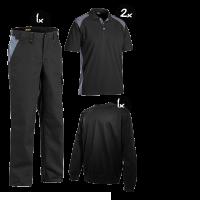 Kledingpakket Blaklader industry Zwart met grijs zwart met grijs