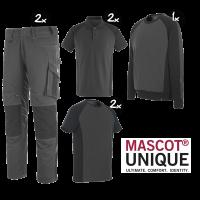 Kledingpakket Mascot Unique grijs met zwart premium