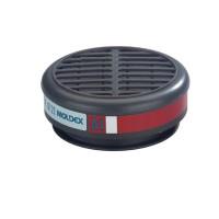 Filter Moldex 8100 - A1 organische dampen en gassen, 10 stuks