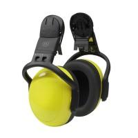 Gehoorkap MSA left|right Medium Helmbevestiging, geel