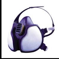 Halfgelaatsmasker 3M 4279 met ABEK1PR3 filter Onderhoudsvrij
