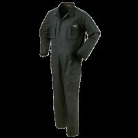 Overall Workman Basic met kniezakken 100% katoen | zwart
