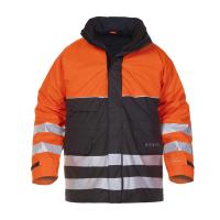 Parka Hydrowear Nijkerk Hydrosoft FR AST EN 471   Oranje-Zwart