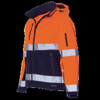 Parka Tricorp TPE3001 fluor oranje met navy blauw