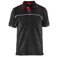 Polo blaklader 3389 bi-colour zwart met rood