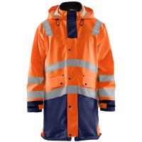 Regenjas Blaklader 4326 Level 3 High Viz oranje met navy