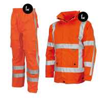Regenkleding set Tricorp EN471 RWS  Fluor oranje ( Basic pakket)
