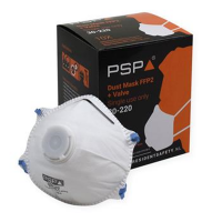 Stofmasker PSP 30-220 FFP2 met ventiel