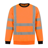 Sweater Best4Work WMS.NL EN471 RWS fluor oranje