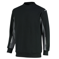 Sweater Orcon capture Ronald bi-colour - zwart met grijs
