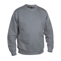 Sweater Blaklader 3340 ronde hals met boord | Grijs