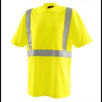 Tshirt V-hals Blaklader 3313 Hi-Viz EN2071 cl.2 fluor geel