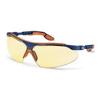 Veiligheidsbril Uvex i-vo 9160-520 Amberkleurige lens, UV 2-1.2