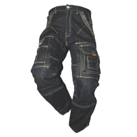 Jeans Beckum Workwear EBT14 demim blauw