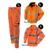 Kledingpakket Workman visibility EN471 RWS oranje premium