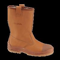 Werklaarzen Jallatte cap sas S3 | Gevoerd | bruin