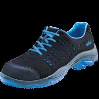 Werkschoenen Atlas SL40 Blue ESD S1 zwart met blauw