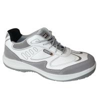 Dassy neptunes werkschoenen wit met grijs