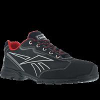 Werkschoenen Reebok 1011 S3 Src zwart met rood