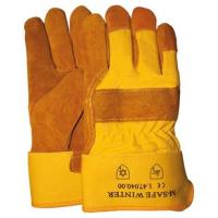 Winter handschoenen Msafe, gele kap - Foam voering