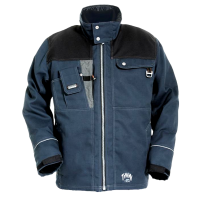 Winterjack Tranemo 3500 T-more gevoerd indigo blauw